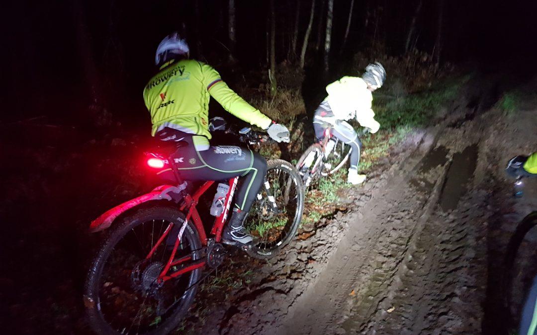 Pokręciliśmy wieczorem po lasach