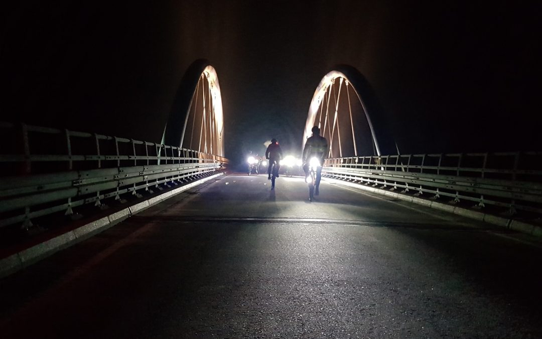 Kolejna wieczorna jazda za nami